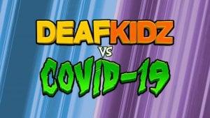 DEAFKIDZ vs COVID-19 online games logo