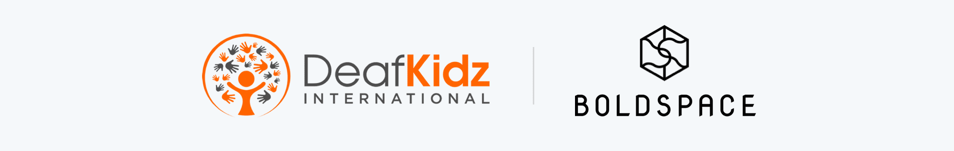 The DeafKidz and Boldspace logo's