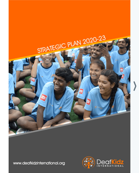 Front cover of our Strategic Plan